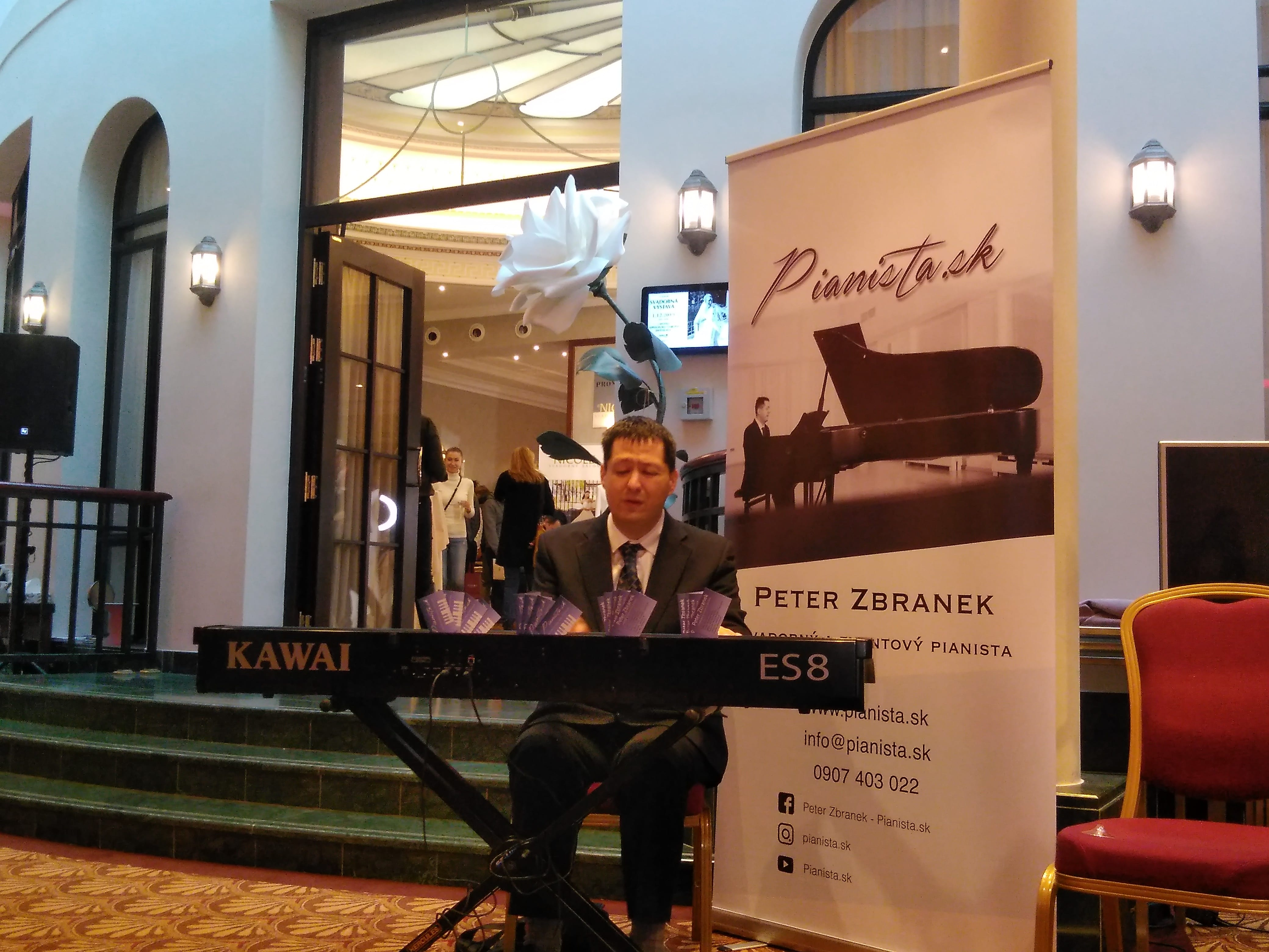 Svadobná výstava v Hoteli Carlton, Bratislava