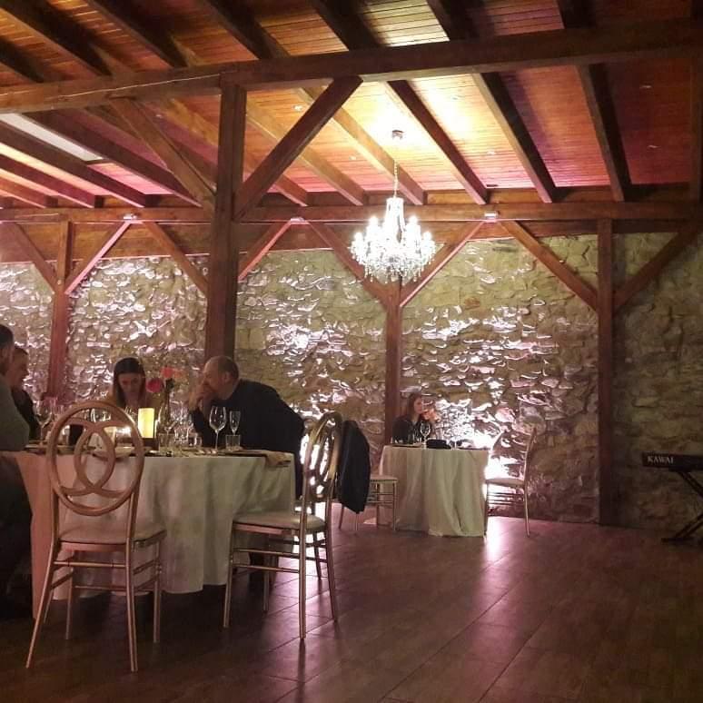 Valentínska večera v Starom dome