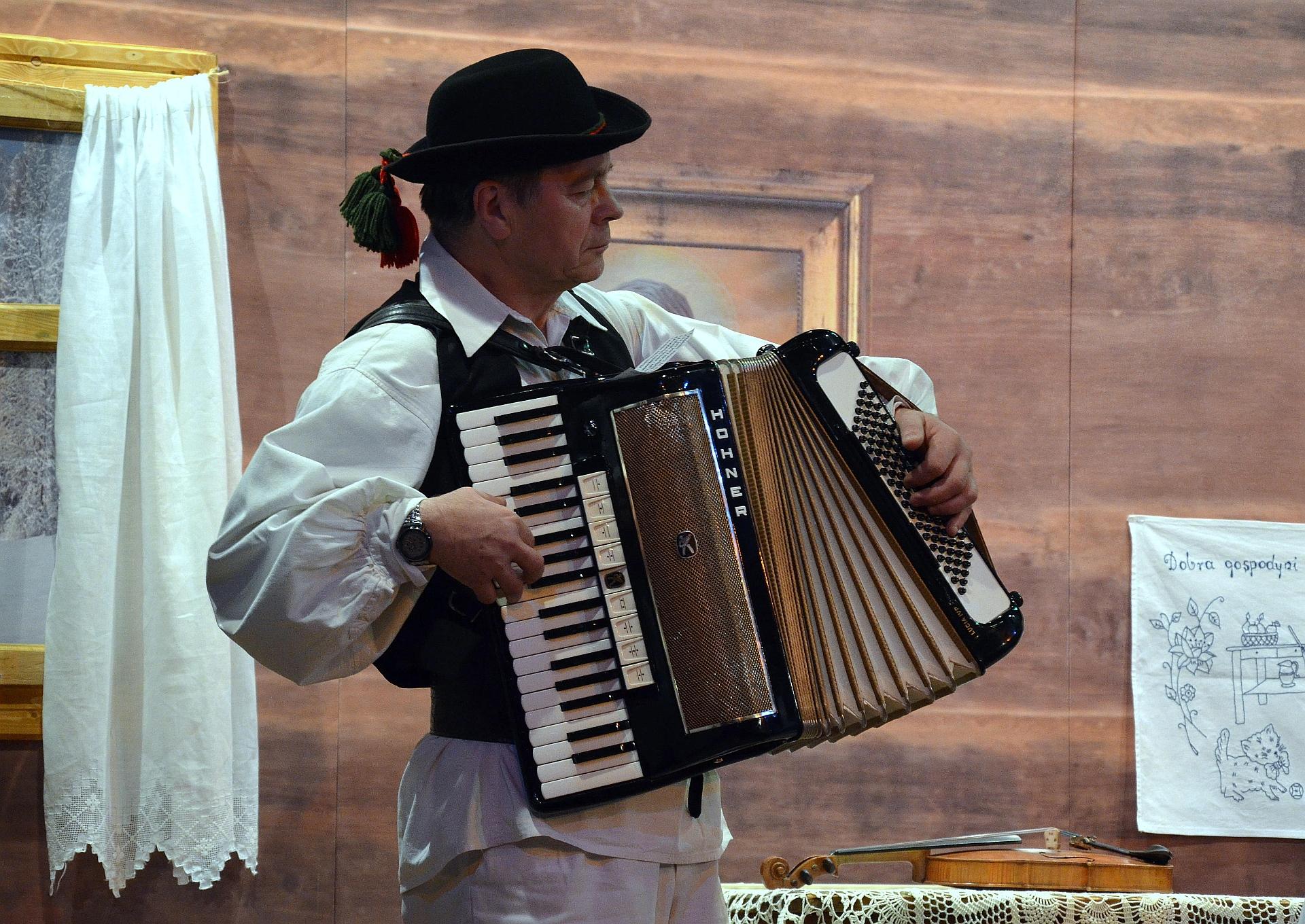 Harmonikár na oslavu